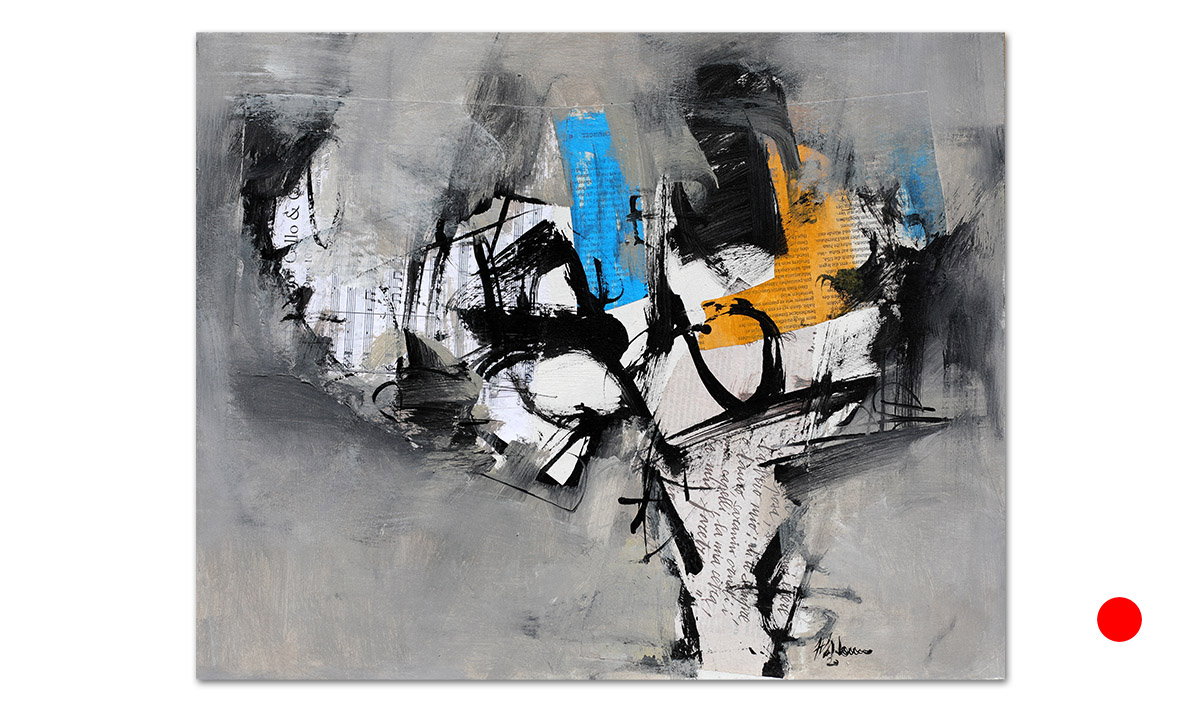Greys n° 13 - cm. 40x50, 2020 (Private Collection Chicago /US)
