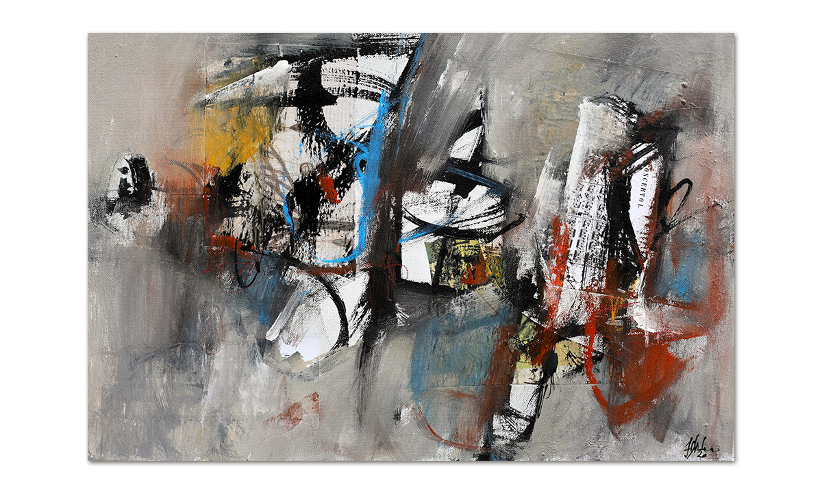 Greys n° 14 - cm. 40x60, 2020
