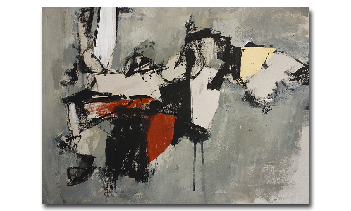Greys n° 1 - cm. 50x65, 2018