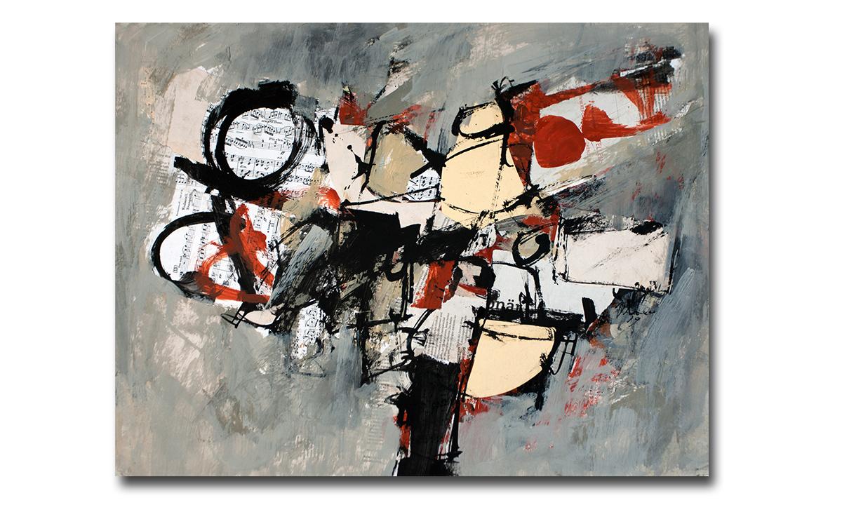 Greys n° 6 - cm. 50x65, 2019