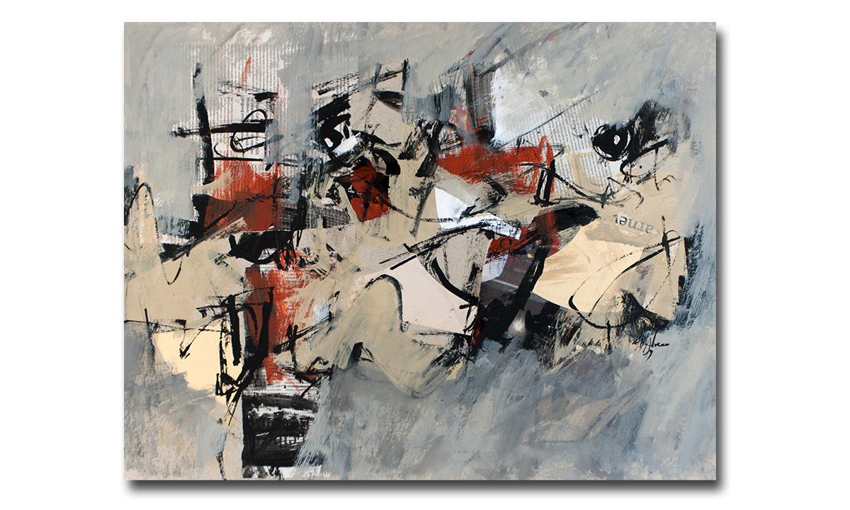 Greys n° 7 - cm. 50x65, 2019