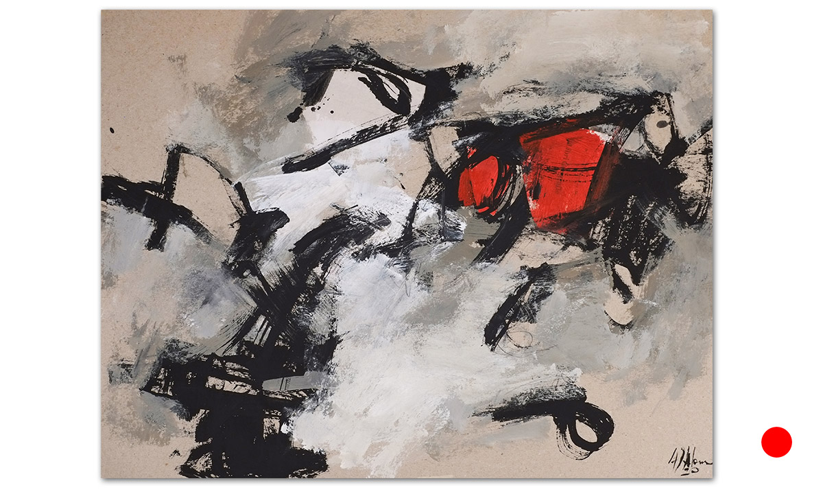Greys n° 8 - cm. 50x65, 2020 (Private Collection Firenze /IT)