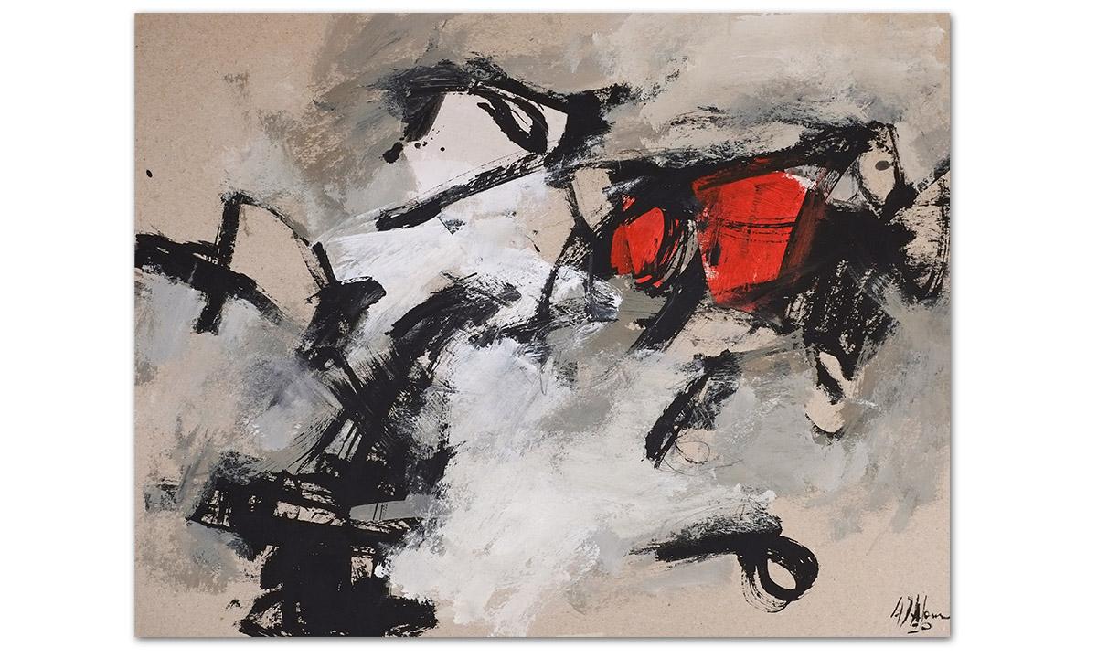 Greys n° 8 - cm. 50x65, 2020