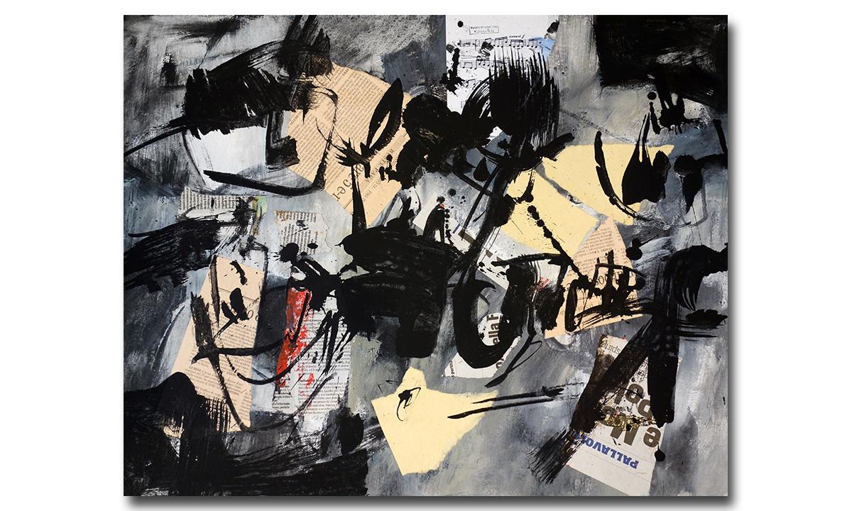 Loose Ends / Nodi Sciolti n° 1 - cm. 50x65, 2018