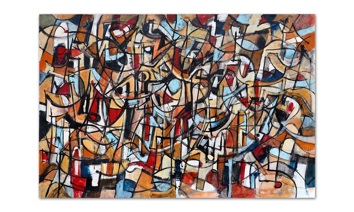 Overture - cm. 100x150, 2017