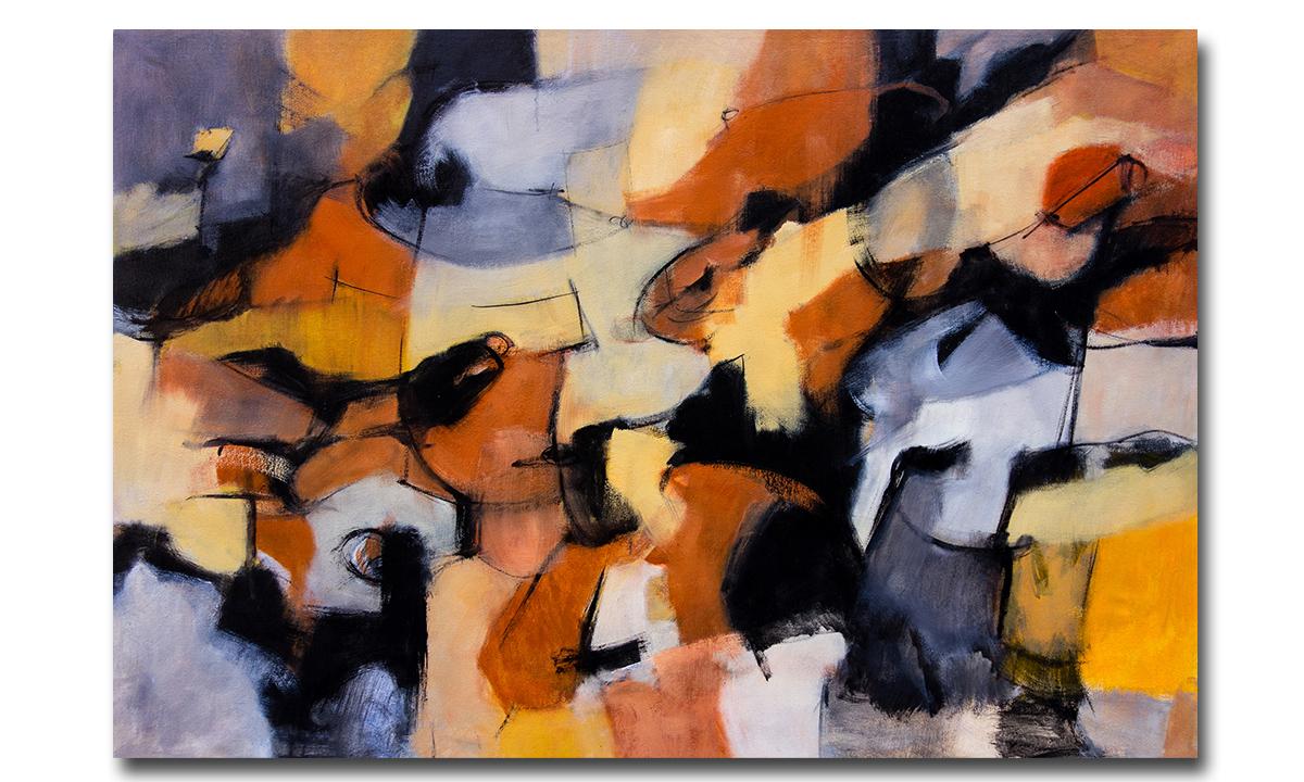Desert Orange - cm. 68x100, 2016