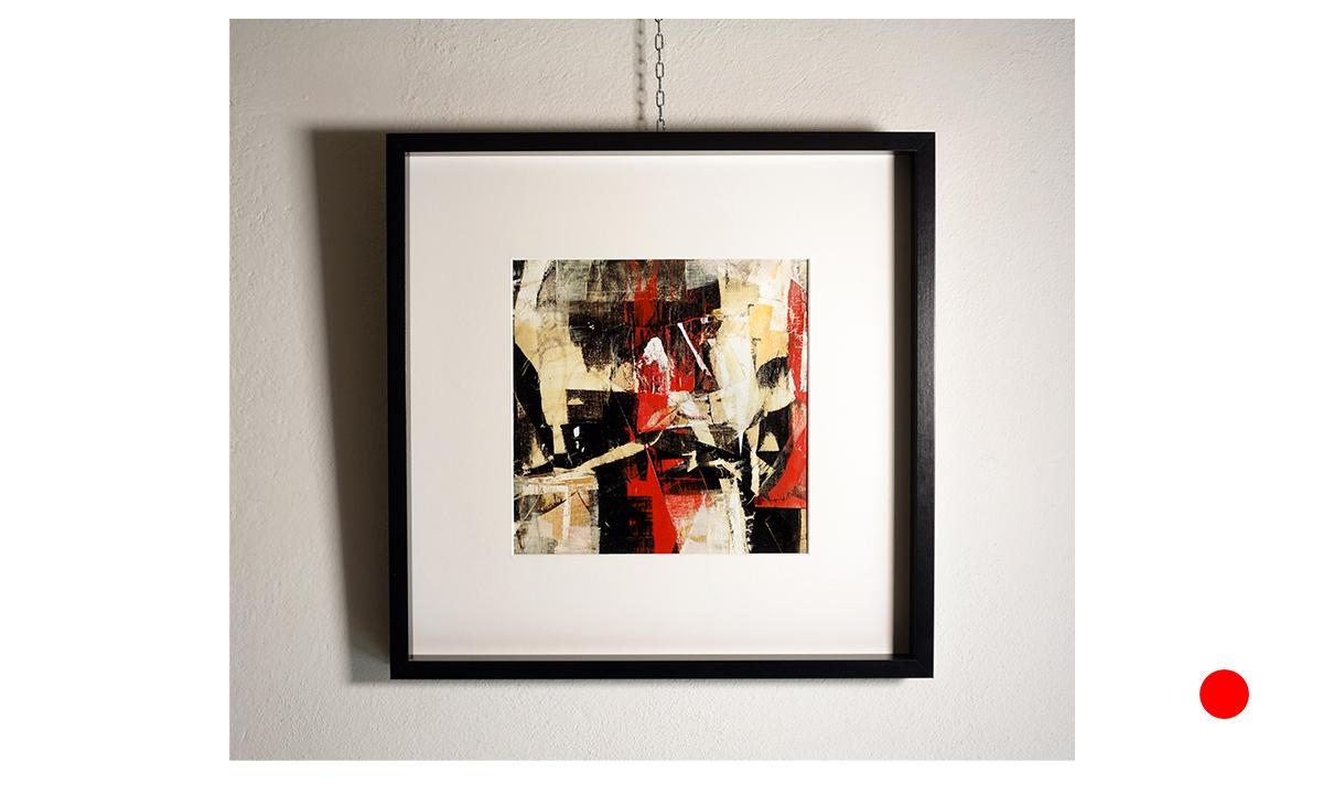La Casa del Diavolo - cm. 30x30 on 50x50, 2018 (Private Collection Puilacher /FR)