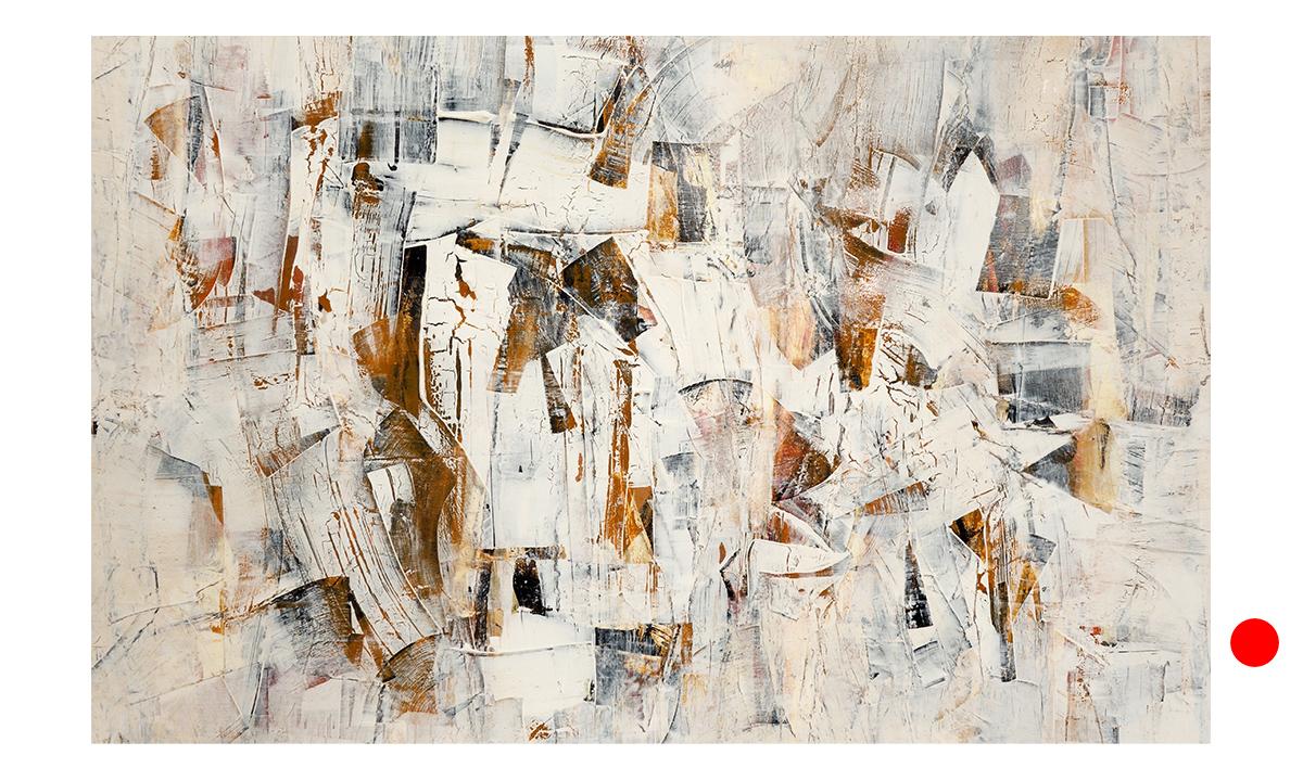 Hidden Cities n° 15 - cm. 70x110, 2019 (Private Collection Paris /FR)