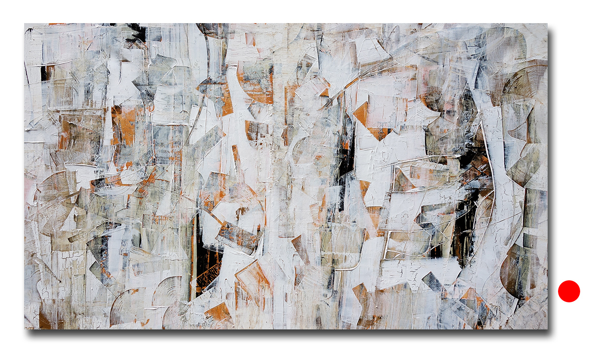 Hidden Cities n° 3 - cm. 70x135, 2016 (Private Collection New York /US)