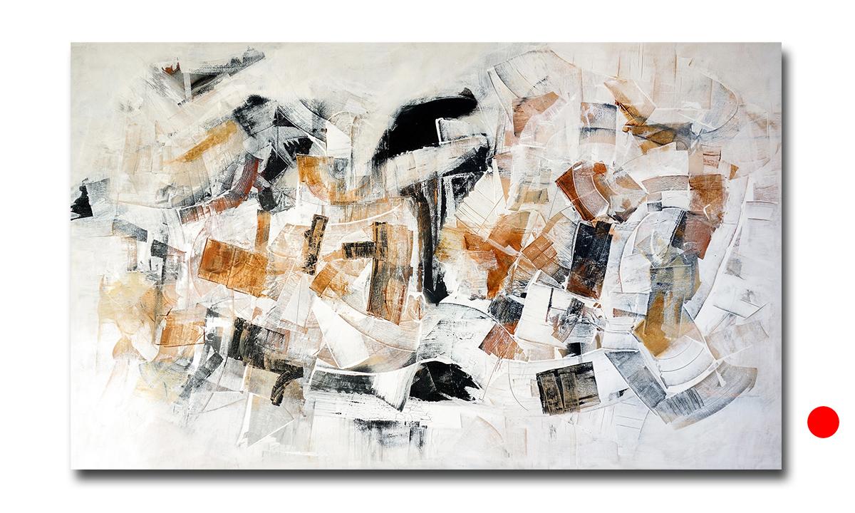 Hidden Cities n° 6 - cm. 90x150, 2017 (Private Collection Munich /DE)