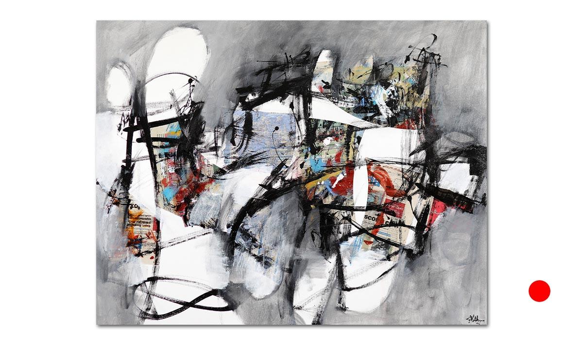 Grande Grigio n° 7 - cm. 70x90, 2021 (Private Collection Fidenza /IT)