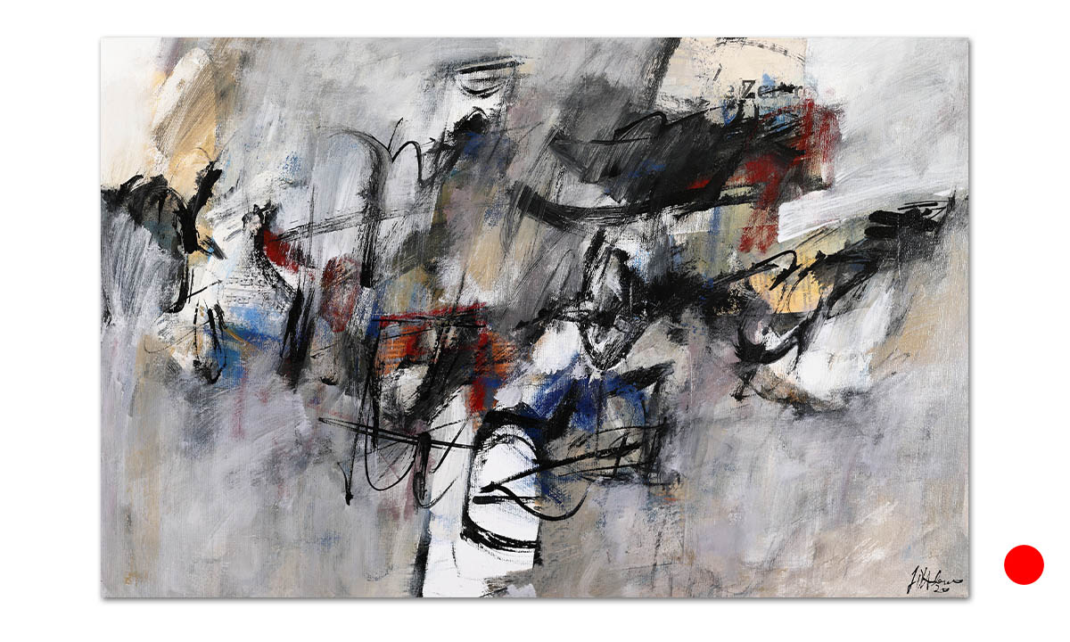 Greys n° 16 - cm. 42x65, 2020 (Private Collection Wien /AT)