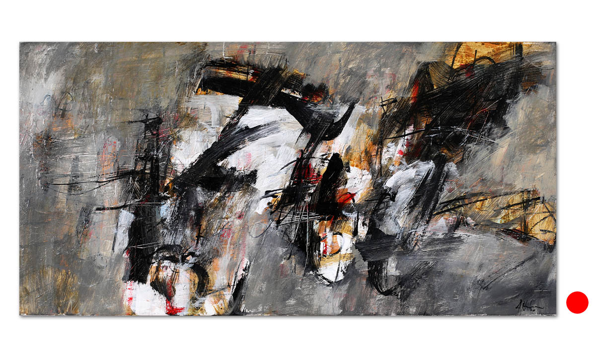 Greys n° 17 - cm. 30x60, 2020 (Private Collection Wien /AT)
