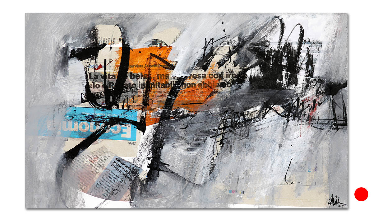 Greys n° 21 - cm. 30x50, 2021 (Private Collection Wien /AT)