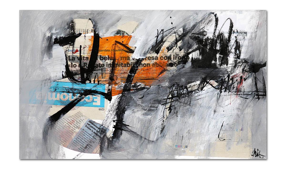 Greys n° 21 - cm. 30x50, 2021