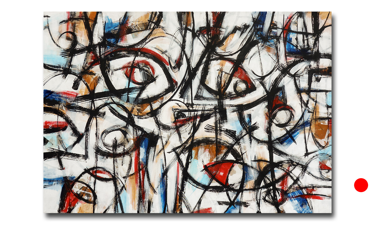 Harmonia - cm. 90x130, 2018 (Private Collection Milan /IT)