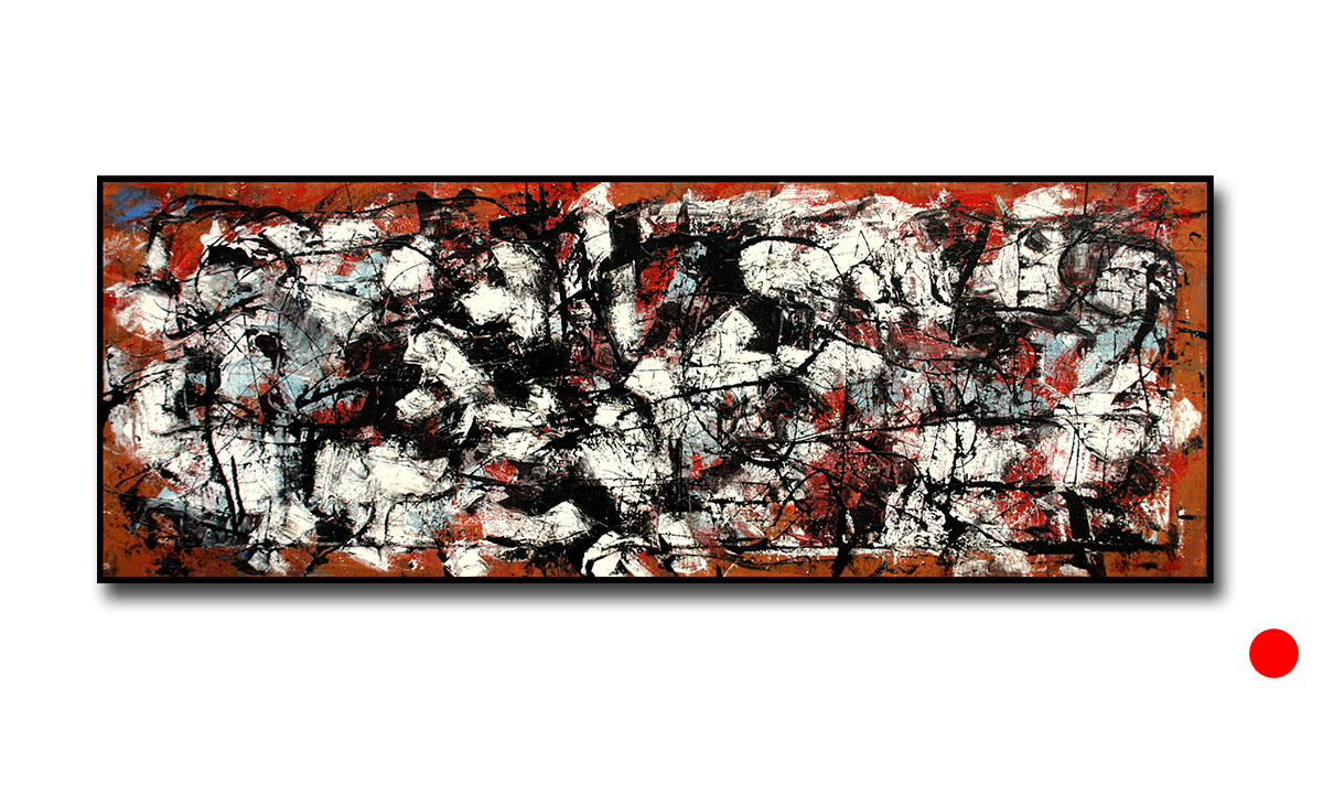 Humanitas - cm. 40x110, 2014 (Private Collection Bologna /IT)