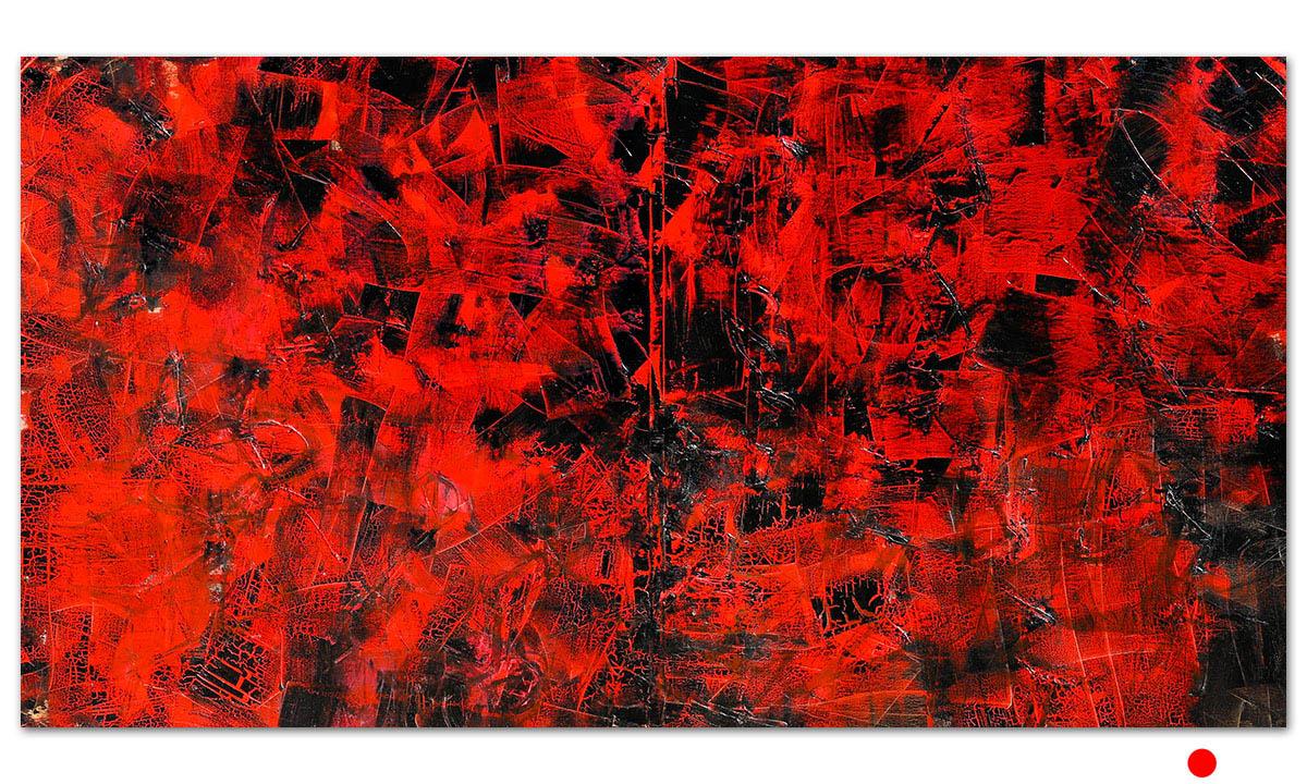 Inferno - cm. 90x170, 2014 (Private Collection Bologna /IT)
