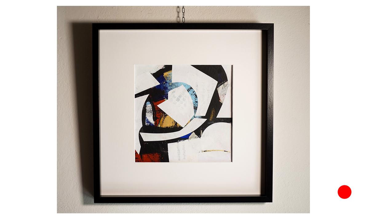 Morpheus - cm. 30x30 on 50x50, 2018 (Private Collection Eschweiler /DE)