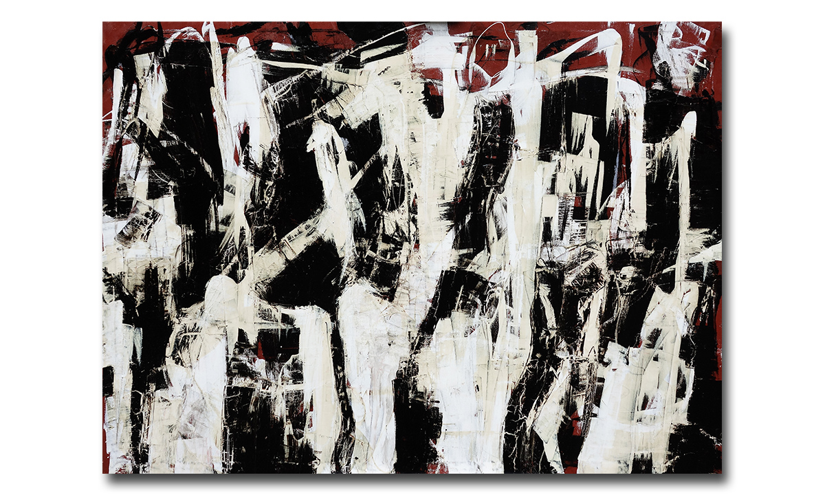 Pandemonium - cm. 100x140, 2016