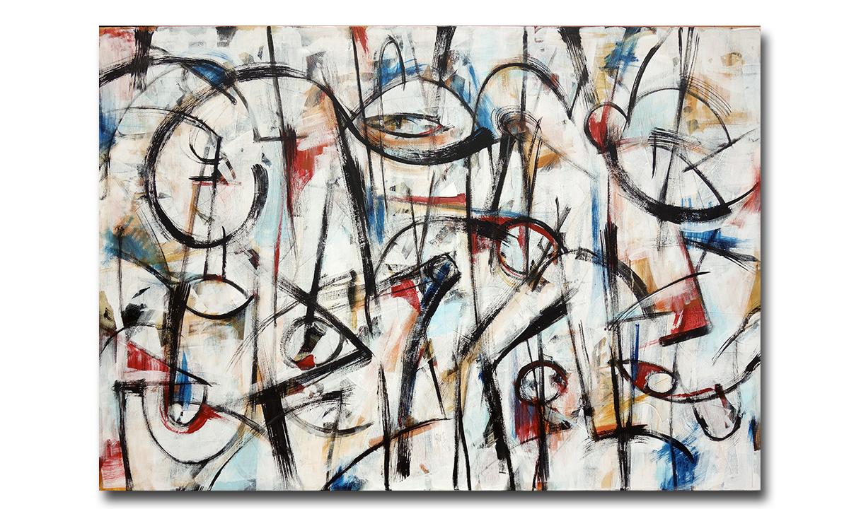 Quartet - cm. 90x130, 2018