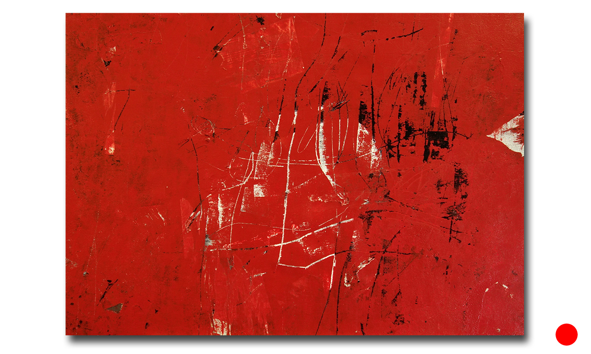 Red Dream - 50x70, 2017 (Private Collection Bad Nauheim /DE)