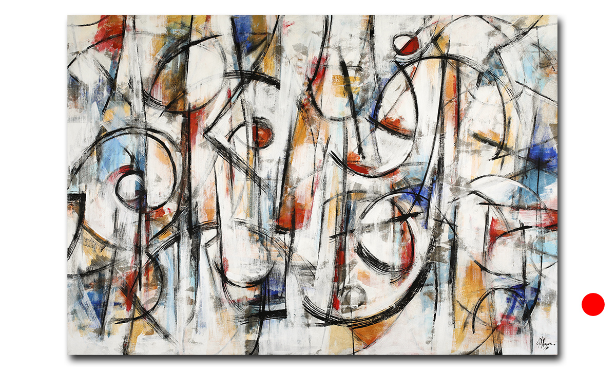 Euphony - cm. 90x130 (Private Collection Chicago/US)