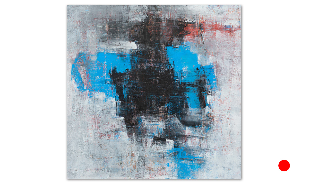 Stasis - cm. 80x80, 2019 (Private Collection Chicago /US)