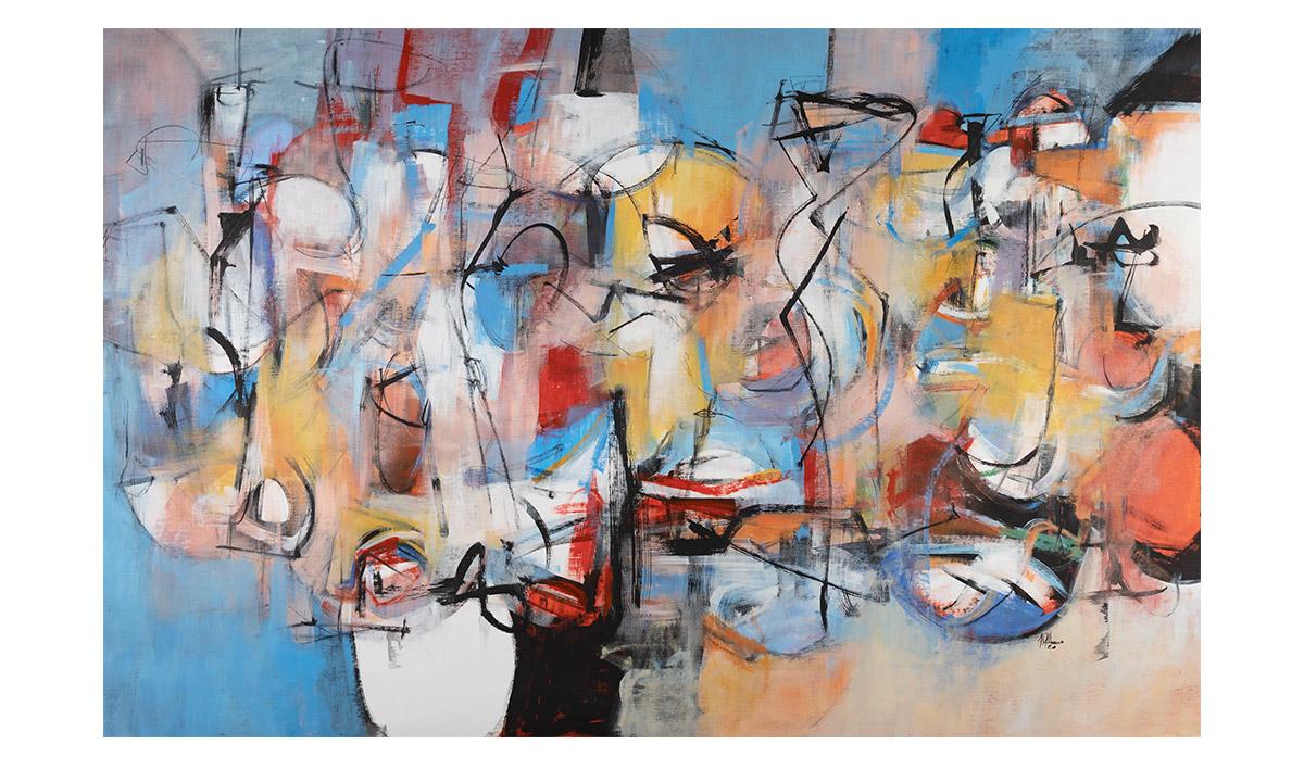 Metamorphosis (Portrait of Gregor Samsa) - cm. 130x200, 2020