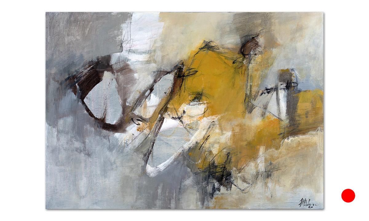 Capolinea - cm. 50x70, 2020 (Private Collection Berlin /DE)