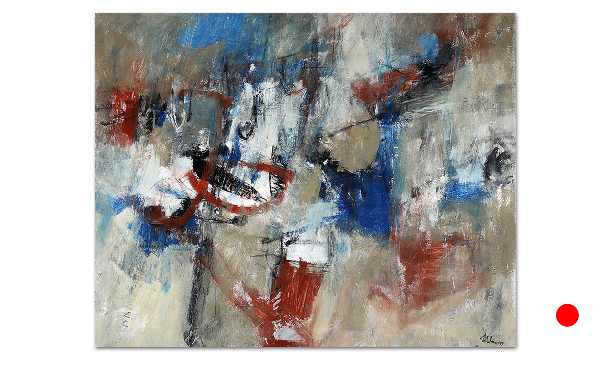 Cariddi - cm. 55x70, 2019 (Private Collection King William /US)