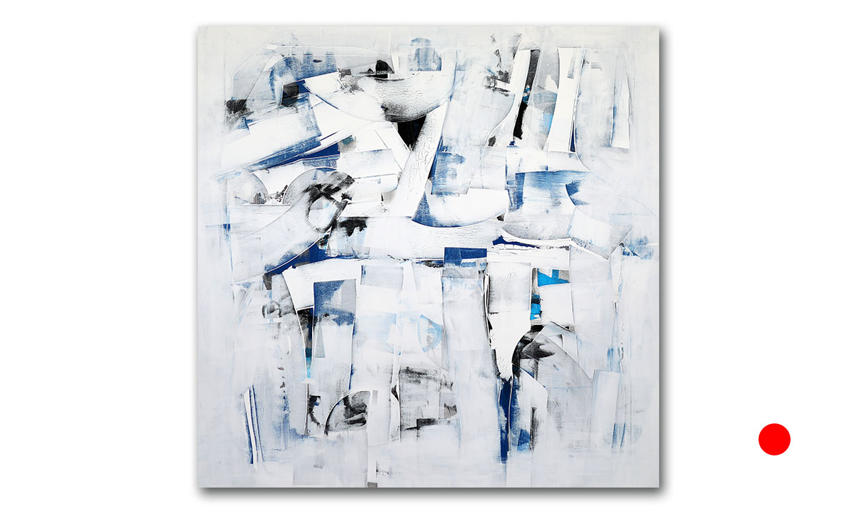 Hidden Cities n° 53 - cm. 130x130, 2021 (Private Collection /UK)