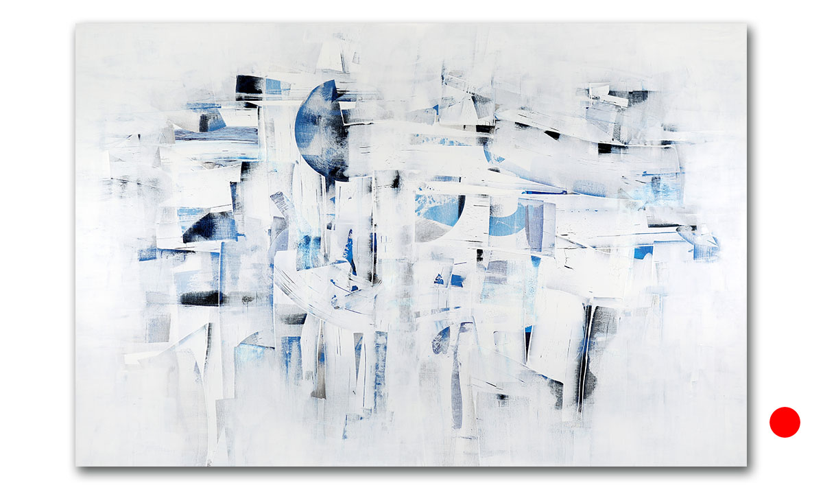 Hidden Cities n° 54 - cm. 100x150, 2021 (Private Collection Treviso /IT)
