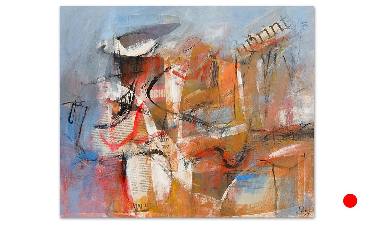 Intrepido - cm. 50x60, 2019 (Private Collection Bad Vilbel /DE)