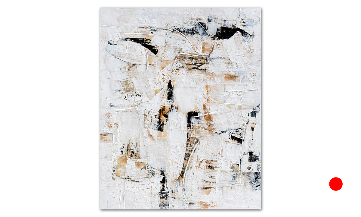 Horus (Hidden Cities n° 29) - cm. 100x80, 2020 (Private Collection Portland /US)