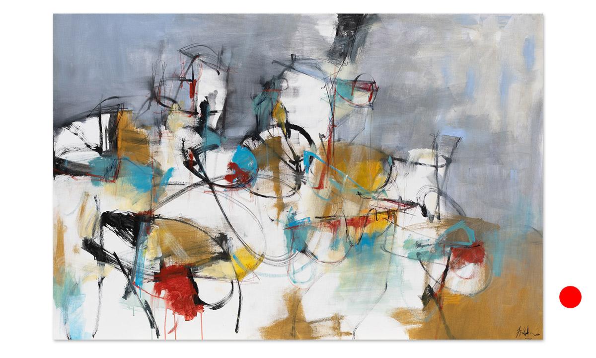 Ritorno - cm. 100x150, 2020 (Private Collection Bruxelles /BE)