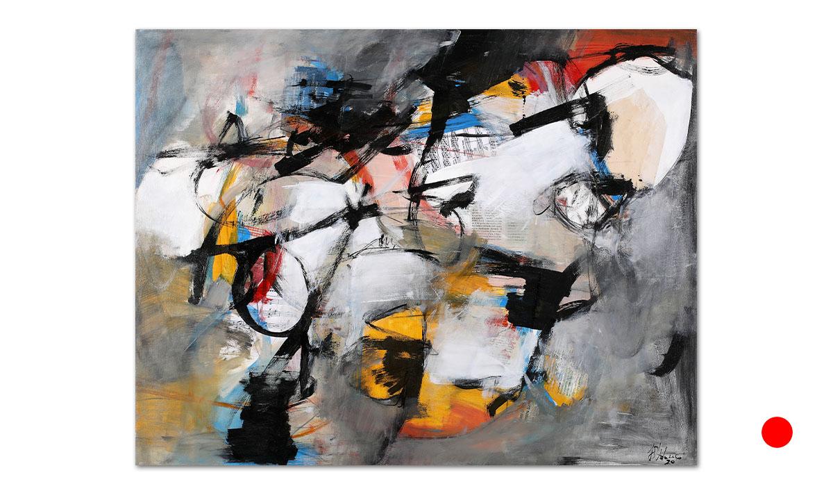 Tempo Aperto - cm. 70x90, 2020 (Private Collection Chicago /US)