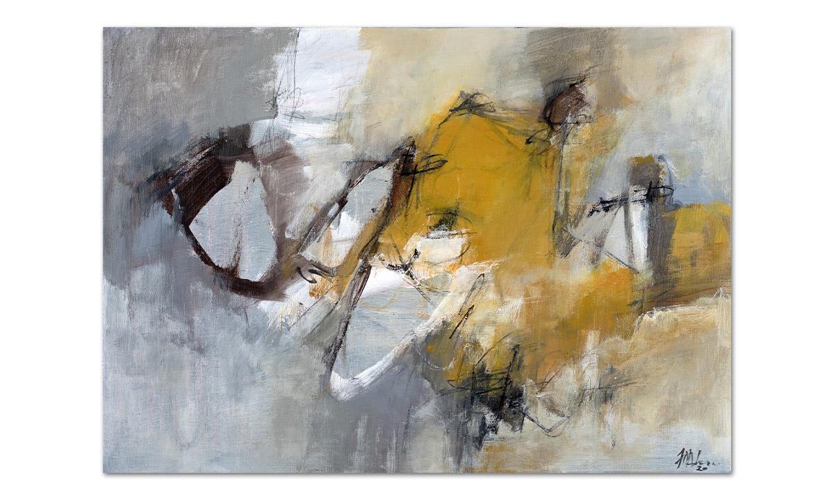 Capolinea - cm. 50x70, 2020