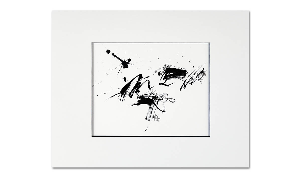 Melodia - cm. 23,5x29,5 on 40x50, 2021