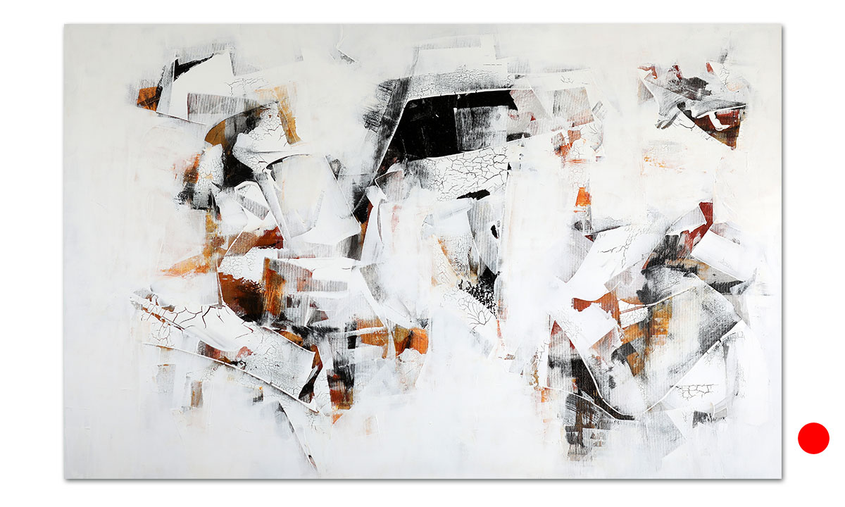 Hidden Cities n° 44 - cm. 90x140, 2021 (Private Collection San Diego /US)